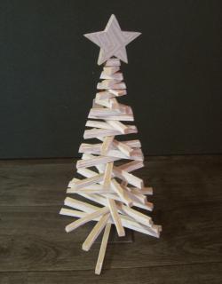 013 weihnacht baum deko holz b
