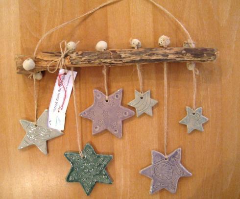 042 weihnacht deko brunnadere stern ton holz b