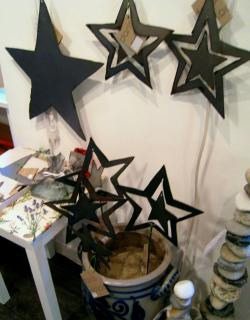 043 deko weihnacht stern metall b