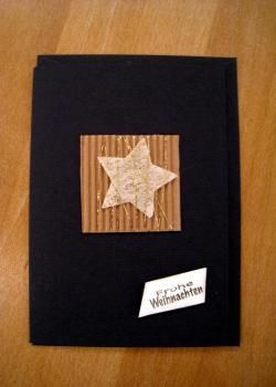 085 karte weihnacht stern text b