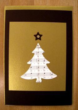 092 karte weihnacht baum bb