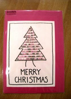 131 karte weihnacht baum b