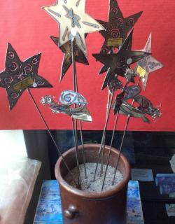 168 sternen engel deko metall weihnachten b 1
