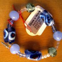 Armband blau schmuck 0160 b