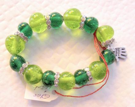 Armband grun hand schmuck 023b b 4