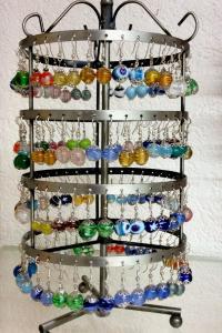 Glas und werkheim studen 086 ohranhanger schmuck glas b