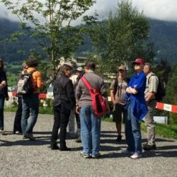 Gruppe im tierpark