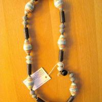 Halskette braun schmuck 016 b