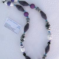 Terrasse 010 halskette violett schmuck b
